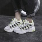 【shoes】スニーカーレディース履き心地よいスポーツ丸トゥ