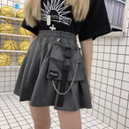 【bottoms】 ストリート系切り替え合わせやすいスカート 19380566