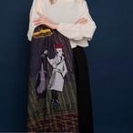 Merino Wool 'Music Matters' 正方形スカーフ