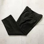 HERMES khaki brown color twill pants