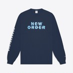 Noah x New Order Bizarre Love Triangle Tee(Navy)