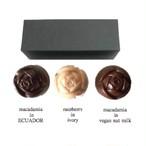 bonbon3*rose3-2*may2018box/raw chocolate