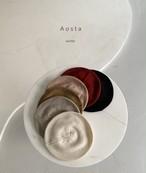 【予約販売】knit beret〈Aosta〉