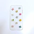 ✜ iphone7Plusケース / クリア (レインボーカラー)✜
