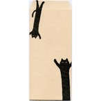 猫封筒(クロネコバンザイ)