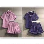 SALE☆ ストライプパジャマ ヘアバンド付き