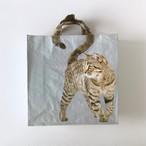 キジトラの猫のショッピングバッグ|Tabby Brown Cat Shopping Bag