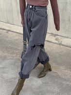 ビンテージルーズフィットデニム デニム ジーンズ 韓国ファッション