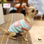 9。Paris Dog【正規輸入】犬 服 Tシャツ ミント イエロー 春 夏物