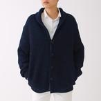 400005 Shawl Collar Cardigan(ネイビーMix)