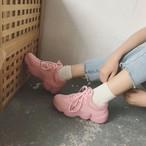 【shoes】スポーツシンプルなカジュアル厚底スニーカー13852409