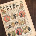 イラストが可愛い!フランスの少女雑誌 LA SEMAINE DE SUZETTE(18 Mars 1920)