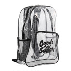 【Goods & Supply】Clear Backpack