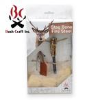 Bush Craft Inc ブッシュクラフト スタッグボーン ファイヤースチール  火おこし 自然派 キャンプ アウトドア サバイバル bc4573350722756