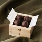 【冷蔵便】純米酒ショコラ綿屋 檜枡4粒入りギフト