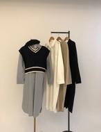 ウィークリーシャツワンピース ワンピース 韓国ファッション
