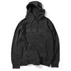 MOANDMO Pigment Dyed Hoodie / Black