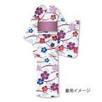 仕立上り浴衣㉓桜柄