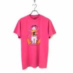 80's ONEITA POWER/50 AIRWAVES T-shirt made in USA size M  Pink