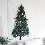 壁掛けクリスマスツリー【100cm×150cm】アレンジタペストリー モミの木 ホームパーティー デコレーション クリスマスインテリア オーナメント  吊り下げインテリア