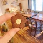 店頭お渡し お花のチョコクッキー(2月11〜14日の中でご希望日にお渡し)