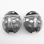 """AVON"" Lucky Ladybug earring[e-583]"