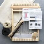<Found & Made> Weaving Frame Loom Kit / スウェディッシュヤーンのミニマット 手織り木枠キット (M)