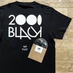 2000Black × Ends and Means × Jazzy Sport Tシャツ/ブラック(Mix CD付き)