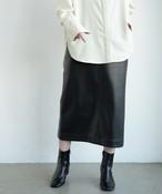 エコレザータイトスカート/BLK
