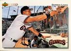 MLBカード 92UPPERDECK Darren Lewis #565 GIANTS