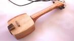 木製和楽器ストラップ 三味線