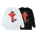 One Family Co. / Long Sleeve T-Shirt / Red Chili