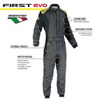 IA01854184 FIRST EVO SUIT ANTHR/YELLOW