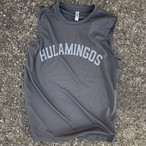 HULAMINGOS COLLEGE LOGO NO SLEEVES T-SHIRTS