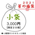 2021苔の福袋(小袋) ◆12種類のコケが入った福袋