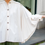 70's Design Sleeve Blouse