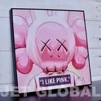 ベアブリック ピンク / BB : I LIKE PINK / サイズ 26cm / PAPA_BB0014