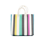 MERCADO BAG MULTI COLOR STRIPE -Multi (S)