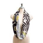 Silk & Merino Wool 'Harrogate' Winter White ループスカーフ