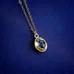 宝石質シトリン K14GF ネックレス 40・45cm ~繁栄・活力~