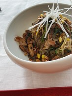 ご家庭で簡単!いろんな具材を混ぜ合わせて作る雑菜(チャプチェ)のセット3~4人前分