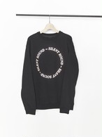 SILENT SOUND Crewneck Sweatshirt - Circle Logo