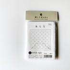 オリムパス花ふきん No.2 角七宝(かくしっぽう)(白)
