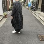 ROGGYKEI/ロギーケイ KOSODE COAT/BLACK x GRAY size M