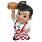 ハンバーグレストランBIG BOYのキャラクター貯金箱!  【貯金箱】ビッグボーイコインバンク ■ BIG BOY フィギュア 人形 アメリカン雑貨