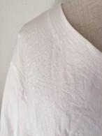 ステッチ刺繍ブラウス(19SSB01)