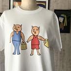 【巨匠動物園】誰と誰?Tシャツ