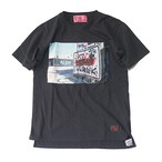 EFFECTEN/エフェクテン collaboration L.A phot Tee Black