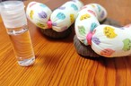 【お正月限定特典付】まるくんを埋め込んだ布ぞうり(秘密の水・希釈して500ml3本分作れる)