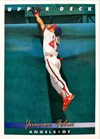 MLBカード 93UPPERDECK Junior Felix #157 ANGELS